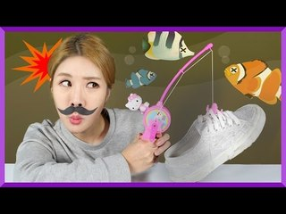 [Fairy Tale] Julie's 'Let's go fishing' story | CarrieAndEnglish