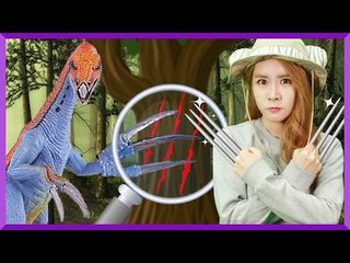 Julie's Dinosaur Story 'Therizinosaurus' | CarrieAndEnglish