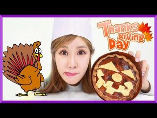 DIY How to make an Easy Pumpkin Pie for Thanksgiving Day Dessert with Julie | CarrieAndEnglish