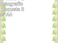 Plus Office Photo Paper Papel fotografico 2880 dpi paquete 2