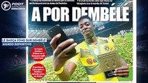 Gareth Bale a fait son choix pour son avenir, Ousmane Dembélé fait trembler le Borussia Dortmund - vidéo Dailymotion