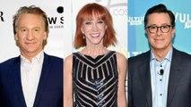 Kathy Griffin, Bill Maher & Stephen Colbert: When Anti-Trump Comedians Go Too Far | THR News