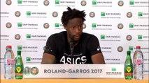 """Roland-Garros - Monfils : """"Je n'étais pas loin"""""""