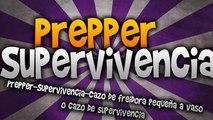 Prepper-Supervivencia-Cazo de freidora pequeña a vaso o cazo de supervivencia