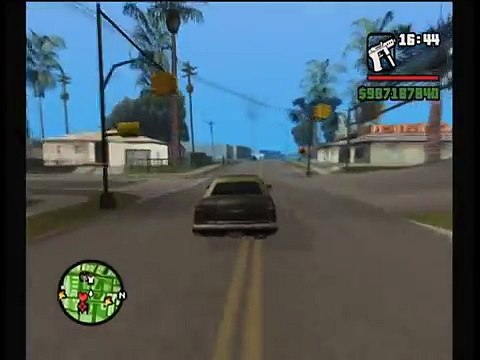 GTA San Andreas - How to Find Tarnell - How to Play 2 Player Co-Op Free Roam