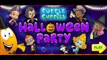 Nick Jr | Bubble Guppies Halloween Party Game | Bubble Guppies Episodes | Dip Games for Ki