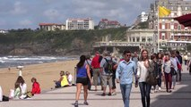 Biarritz in Basque Country in France - Biarritz au Pays Basque tourisme - surfing paradise