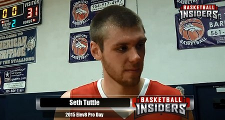 Seth Tuttle - 2015 Elev8 Pro Day