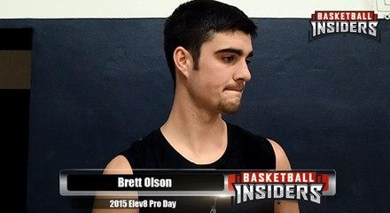 Brett Olson - 2015 Elev8 Pro Day
