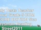 Read  Weekly Tests Teachers Manual Grade 5 COMMON CORE EDITION Scott Foresman Reading  free book f4119a86