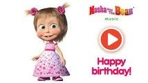 Masha And The Bear Happy Birthday 1 Dailymotion Video