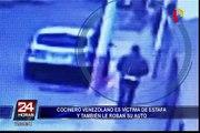 Delincuentes roban auto a cocinero venezolano en La Victoria