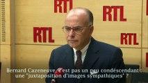 """""""La communication, ça compte en politique"""" a déclaré Bernard Cazeneuve au micro de RTL"""