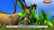 Deer | 3D animated nursery rhymes for kids with lyrics | popular animals rhyme for kids | Deer song | Animal songs | Funny rhymes for kids | cartoon | 3D animation | Top rhymes of animals for children