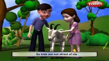 Goat | 3D animated nursery rhymes for kids with lyrics | popular animals rhyme for kids | goat song | Animal songs | Funny rhymes for kids | cartoon | 3D animation | Top rhymes of animals for children