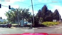 Virajı alamayan Camaro elektrik direğine çarptı!