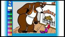 Masha e Orso 5 Italiano Episodo Cartoni animati educativi per bambini 1 (2)