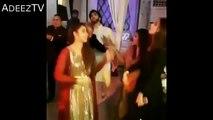 Maya Ali and Imran Abbas dancing at the Aiman and Muneeb engagement ceremony