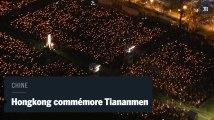 Chine : les Hongkongais commémorent les 28 ans du massacre de Tiananmen