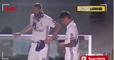 La cara y los gestos de James Rodríguez durante la celebración del Madrid