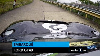 Caméra embarquée en Ford GT40 !