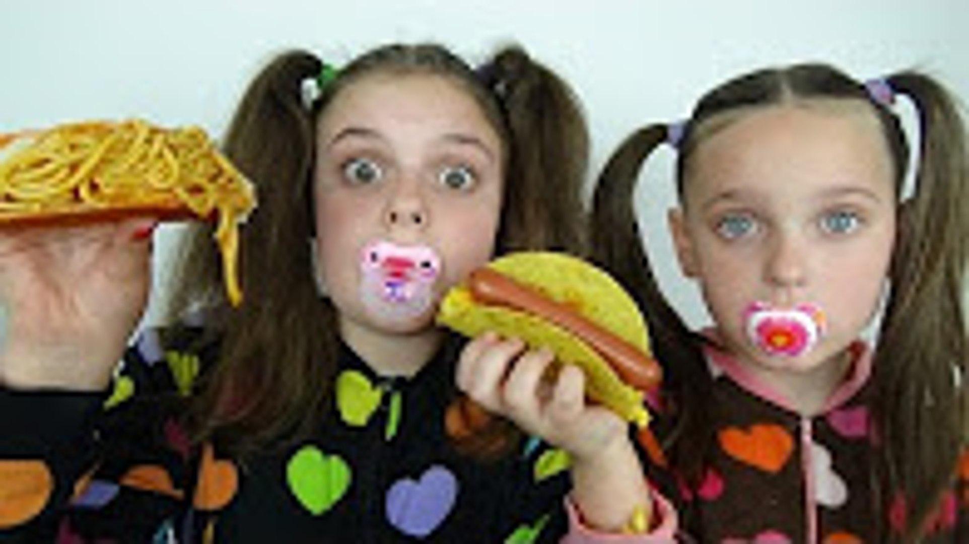 Bad Baby Taco Challenge Taste Test Spaghetti Pizza Hot Dog Tacos Freak Family Freak Family Vlogs Bad