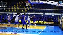 L'itw de Giovan Oniangue avant le Match 4 PL - Chalon des 1/2 Playoffs