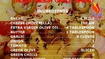 ITALIAN CHEESY GARLIC BREAD / GARLIC BREAD / CHEESE BREAD / ITALIAN BREAD RECIPE