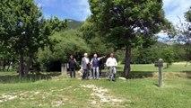 Alpes du Sud : visite du plan d'eau du Riou avec les membres de la ComCom Sisteronais-Buëch