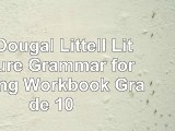 Read  McDougal Littell Literature Grammar for Writing Workbook Grade 10 100188b0