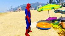 Tegnefilm Spiderman Lege På Ambulansebiler For Barnas