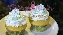 Dépendance et par par Gâteaux Coupe petit gâteau petits gâteaux gelé inspiré Anna elsa disney