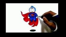 Crazy Art - Drawing Doraemon - New - Super - Doraemon - Drawing - Doraemon pics - drawing - 2017