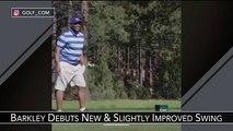Charles Barkley est un peu moins ridicule au golf