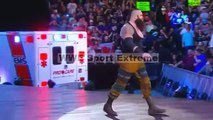 7 July 2017 Braun Strowman attacks Brutal Roman Reigns with Ambulance Extreme Match FullHD Wwe Raw