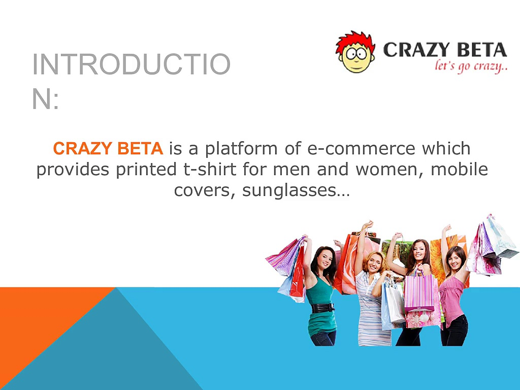 Get printed t-shirt from crazy beta collection store