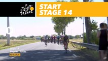 Départ / Start - Étape 14 / Stage 14 - Tour de France 2017