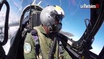 Revivez le défilé aérien du 14 juillet à bord d'un Alpha Jet