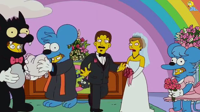 The Simpsons - Ned and Edna's Wedding