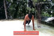 bodybuilding push ups at home ,push ups in a row ?just do this .30 second 40+push ups