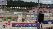 CSO Poney 2D Benjamin Excellence FFE