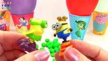 Globos popular Niños sorpresa huevo juguetes Aprender colores para Niños Niños vídeo con sorpresas