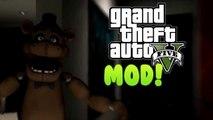 FIVE NIGHTS AT FREDDYS MOD! - GTA Mods & FNAF 3 Gameplay! (GTA IV PC)