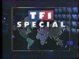 TF1 - 1er Septembre 1993 - Pubs, teasers, début Edition Spéciale Proche-Orient (PPDA)