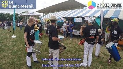 Batucada fête des associations Le Blanc-Mesnil 24 Juin 2017