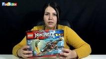 Requin ciel Lego Ninja Lego Ninjago montre la première partie de Lego Ninjago 70601 turc déballer