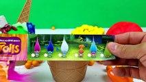 Enfants les couleurs crème petits gâteaux des œufs de la glace enfants Apprendre jouer enseigner tout petit Compilation doh s po
