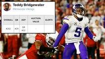 Teddy Bridgewater Injury | Minnesota Vikings | Worst Football Injuries of 2016