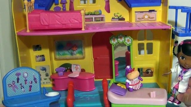 Clinique maison dans est est est jouet Doc mcstuffins ❤ doc hallie lambie disney junior doc mcstuffins