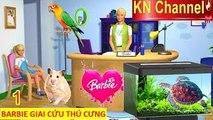 BARBIE GIẢI CỨU ĐỘNG VẬT THÚ CƯNG tập 1 | Trò chơi trẻ em yêu quý động vật